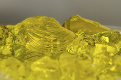 Kolor żółty galareta Abstrakt Obraz Royalty Free