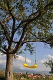 Kolor żółty huśtawka, 3 Zdjęcie Stock