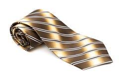 Kolor żółty i czarny krawat Obraz Stock