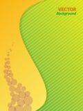Kolor żółty i zieleń Zdjęcia Stock