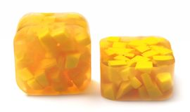 kolor żółty mydlany kolor żółty Zdjęcie Stock