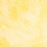 Kolor żółty papierowa tekstura Obraz Royalty Free