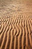 Kolor żółty plaża Zdjęcia Royalty Free