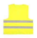 Kolor żółty recue kamizelkę Fotografia Royalty Free