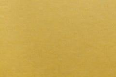 Kolor żółty stemplująca kartonowa tekstura Obrazy Royalty Free