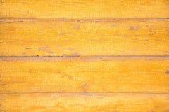 Kolor żółty tekstury Deskowy tło zdjęcia stock