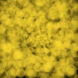 Kolor żółty zamazuje bokeh tło Obraz Royalty Free
