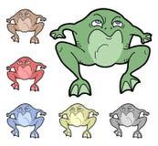 Kolor żaby Zdjęcia Stock