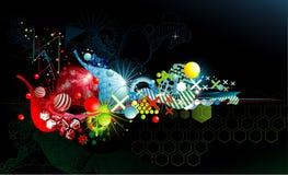 kolor abstrakcjonistyczna fantazja Zdjęcie Stock
