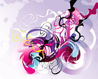 kolor abstrakcjonistyczna fantazja Zdjęcia Royalty Free