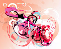 kolor abstrakcjonistyczna fantazja Obraz Stock