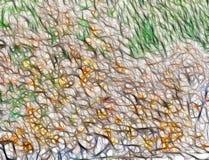 kolor abstrakcjonistyczna ilustracja Zdjęcie Royalty Free