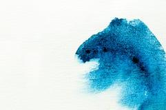 kolor abstrakcjonistyczna woda Fotografia Stock