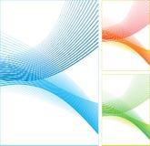 kolor abstrakcjonistyczne linie Zdjęcia Stock