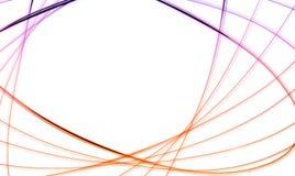 kolor abstrakcjonistyczne linie Obraz Royalty Free