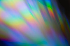 Kolor błyskotliwości cd Makro- Fotografia Royalty Free