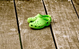 kolor buty Zdjęcia Stock