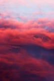 Kolor chmury Zdjęcia Royalty Free