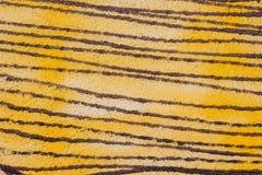 Kolor ściana malował z kiści teksturą, Abstrakcjonistyczny tło Fotografia Royalty Free