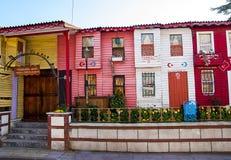 kolor domy zdjęcie stock