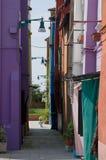 kolor domy Obrazy Stock