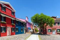 kolor domy Obraz Royalty Free