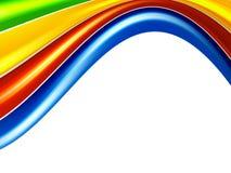 kolor fala Obrazy Stock