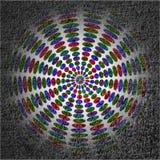 Kolor folujący koło Obraz Stock