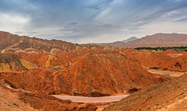 Kolor Geopark Obrazy Stock