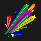 kolor gwiazdy Obraz Royalty Free