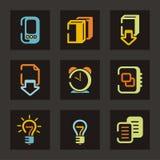 kolor ikony serii ilustracji