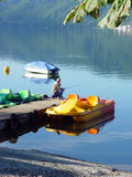 kolor jeziora Obrazy Stock