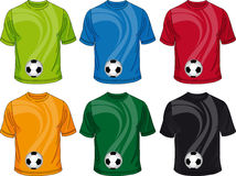 Kolor koszulki ilustracja wektor