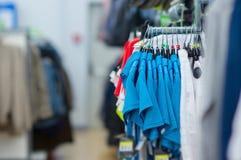 Kolor Koszulki i na stojakach sportów spodnia Zdjęcia Stock