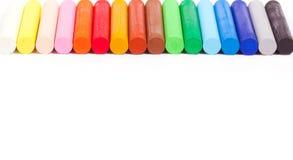 Kolor kreda zdjęcia stock