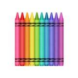 Kolor kredki Zdjęcia Stock