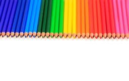 kolor kredki Obraz Royalty Free