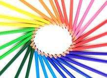 kolor kredki Obrazy Stock