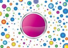 kolor kropki Obraz Royalty Free