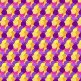 Kolor kropki wzór bezszwowy abstrakcyjne tło ilustracji