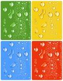 kolor kropli 4 inna woda ilustracji