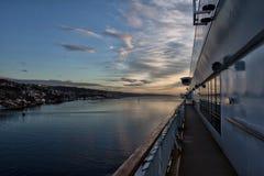 Kolor linii statek Zdjęcia Royalty Free