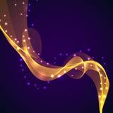 Kolor magii dym Obraz Royalty Free