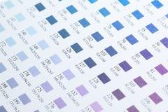 Kolor mapy Fotografia Stock