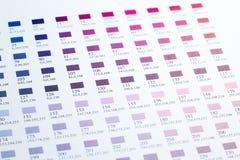 Kolor mapy Zdjęcia Royalty Free