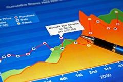 kolor mapy jednostek gospodarczych Obraz Stock