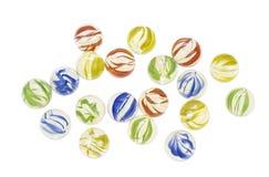 kolor marbles szkła Obrazy Stock