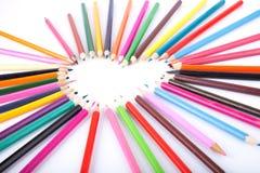 kolor miłość Zdjęcia Stock