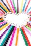 kolor miłość Zdjęcia Royalty Free