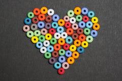 kolor miłość Obraz Royalty Free